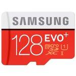 Карта памяти Samsung microSDXC EVO Plus 80MB/s + SD adapter