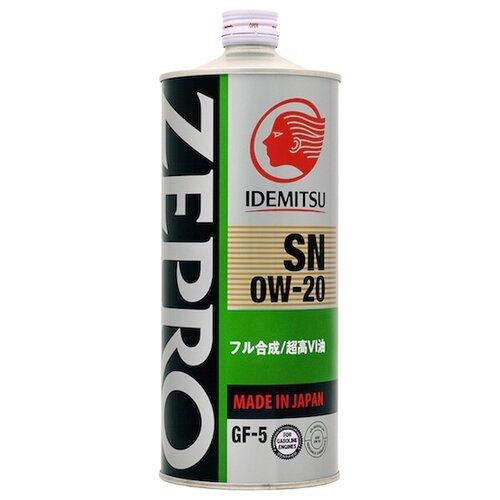 Моторное масло IDEMITSU Zepro Eco Medalist 0W-20 1 л моторное масло idemitsu zepro eco medalist 0w 20 1 л