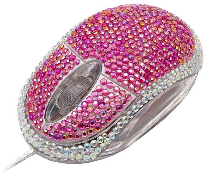 Мышь Satzuma Diamante mouse Pink USB