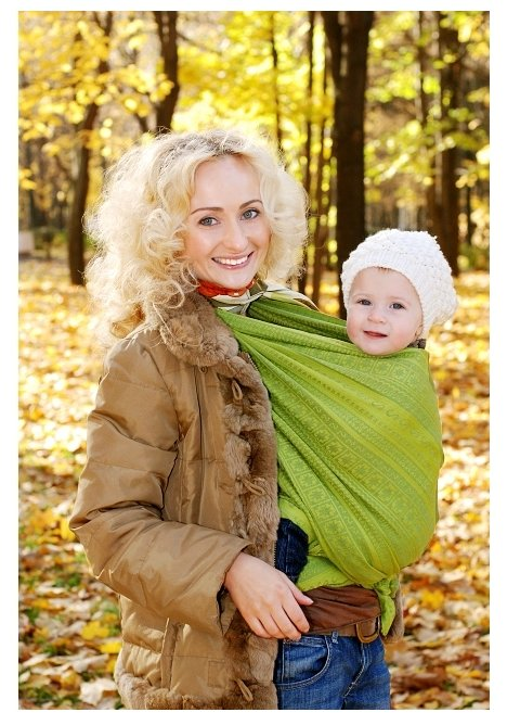 Слинг-шарф Ellevill Zara Fresh