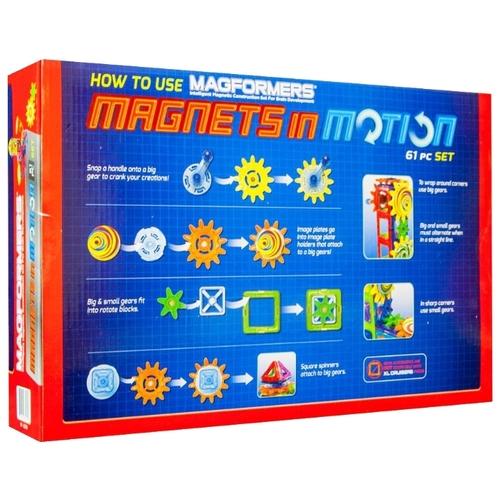 Магнитный конструктор Magformers Magnets in Motion 63205-61 Конструкторы
