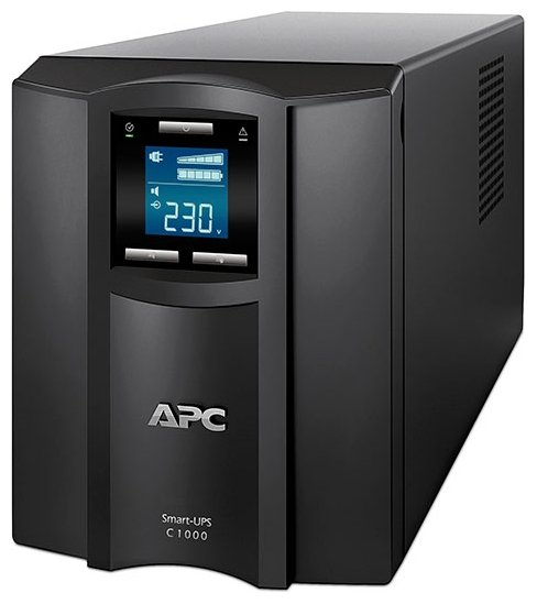 APC by Schneider Electric Smart-UPS C 1000VA LCD
