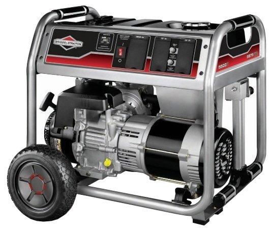 Бензиновый генератор BRIGGS & STRATTON 6250A (5000 Вт)
