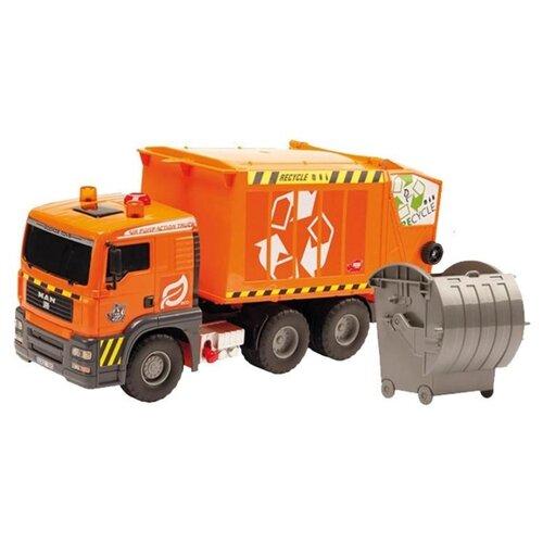 Мусоровоз Dickie Toys Air Pump (3809000) 55 см оранжевыйМашинки и техника<br>