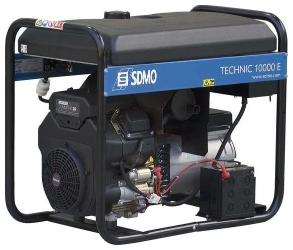 Бензиновая электростанция SDMO Technic 10000E