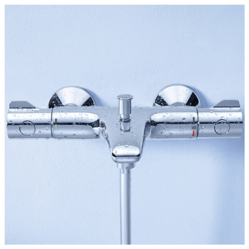 Купить смеситель для ванной термостат grohe смеситель hansgrohe в интерьере