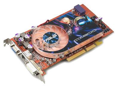 Видеокарта ASUS Radeon X800 Pro 475Mhz AGP 256Mb 900Mhz 256 bit DVI TV