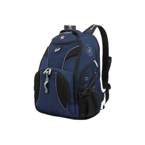 Рюкзак WENGER 98673215 синий/черныйСумки и рюкзаки<br>