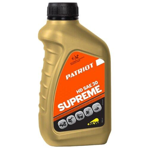Фото - Масло для садовой техники PATRIOT Supreme HD SAE 30 0.592 л масло для садовой техники patriot power active 2t дозаторное 0 946 л