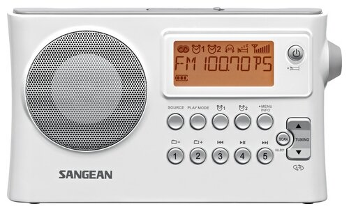 Радиоприемник Sangean PR-D14 White