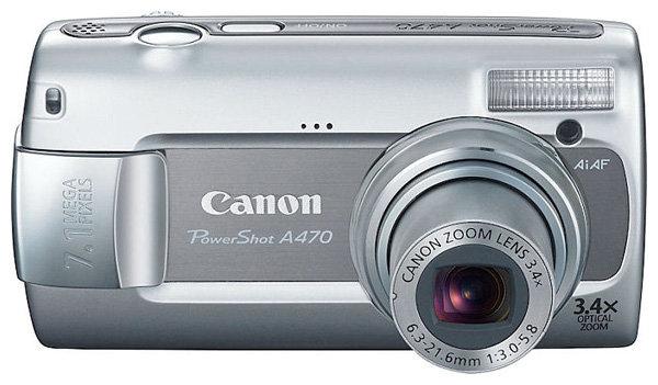 Объектив Canon PowerShot A470