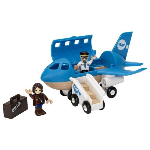 Самолет Brio 33306 синий самолет самолетик синий