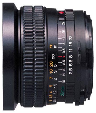 Объектив Mamiya Sekor C 35mm f/3.5 M645