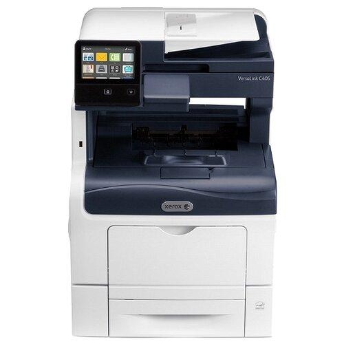 Фото - МФУ Xerox VersaLink C405DN, белый/синий принтер xerox versalink c7000n белый синий
