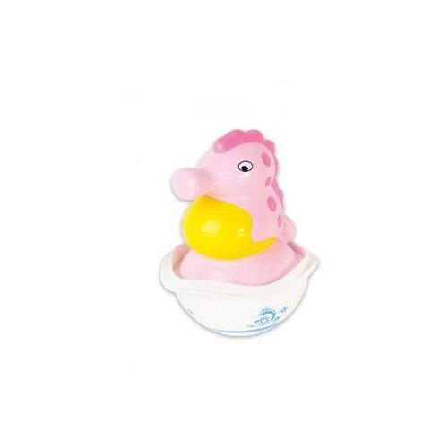 цена на Неваляшка S+S Toys Бамбини Морской конек (100744255) розовый