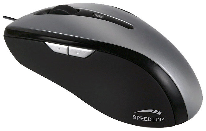 Мышь SPEEDLINK Spine Laser Mouse SL-6380-SGY Silver-Black USB