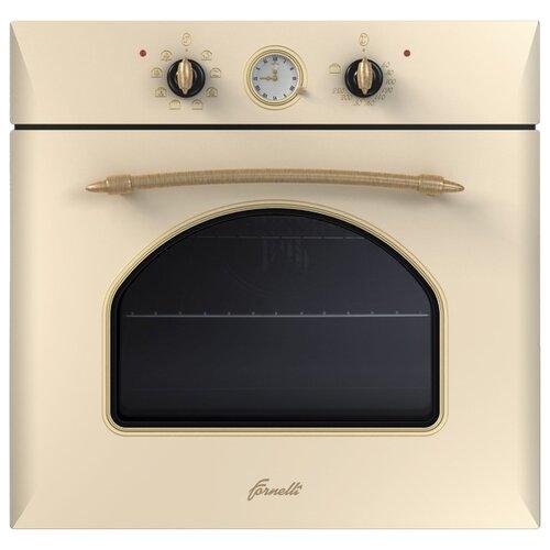 Электрический духовой шкаф Fornelli FEA 60 Merletto Ivory электрический духовой шкаф fornelli fea 60 infinita bl