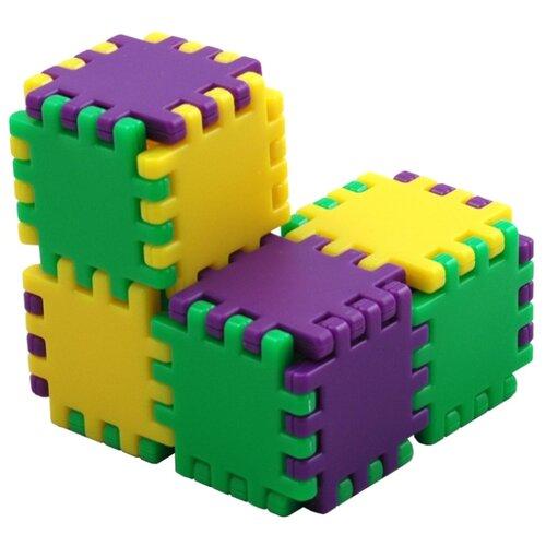 Купить Головоломка Recent Toys Куби-Гами (RT11) желтый/зеленый/фиолетовый, Головоломки