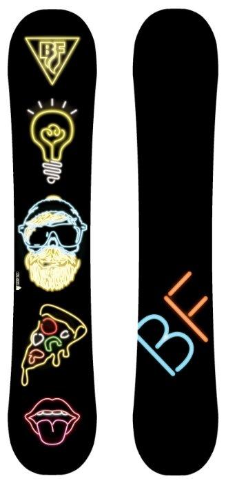 Сноуборд BLACK FIRE BF snowboards 2017-18 Scoop hipster (см:152)