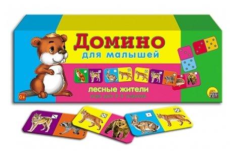 Настольная игра Рыжий кот Лесные жители ИН-0954