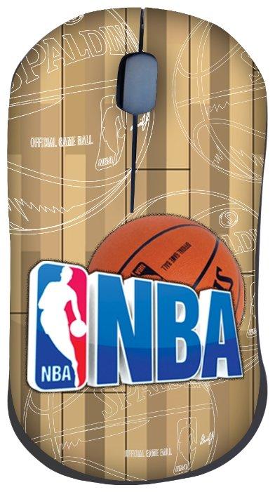 Мышь Cirkuit Planet NBA MM2101 Brown USB
