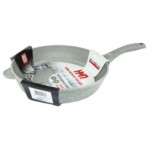 Сковорода НЕВА МЕТАЛЛ ПОСУДА Карелия 2328 28 см сковорода вок нева металл посуда природные минералы карелия 233126w 26 см