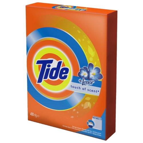 Стиральный порошок Tide Lenor Touch of Scent (ручная стирка) 0.4 кг картонная пачка порошок стир tide lenor лаванда автомат 4 5кг