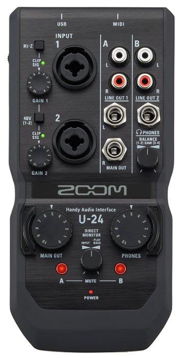 Внешняя звуковая карта Zoom U-24