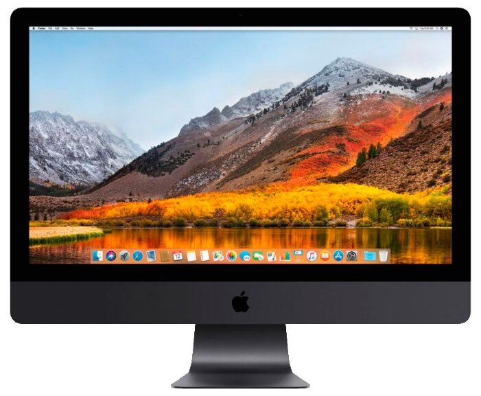 Моноблок 27'' Apple iMac Pro with Retina 5K (MQ2Y2RU/A) 8-Core Xeon W 3.2GHz/32Gb/1TB SSD/Radeon Pro Vega 56 with 8GB HBM2 memory