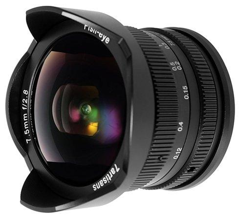 Объектив 7artisans 7.5mm f/2.8 Fuji X