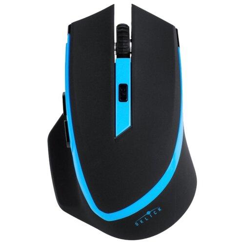 Беспроводная мышь OKLICK 630LW Black-Blue USB