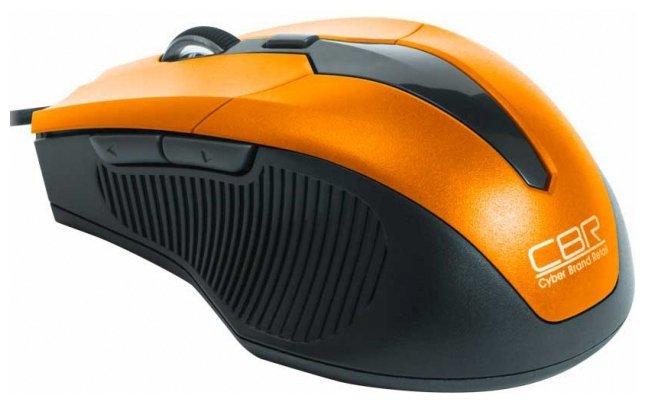 Мышь CBR CM 301 Orange USB