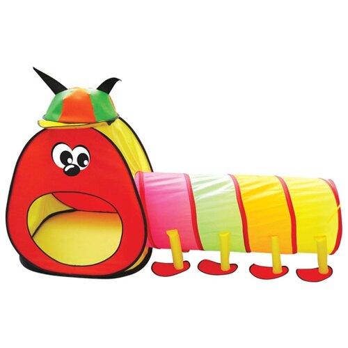 Купить Палатка Bony Гусеничка с туннелем LI9172 разноцветный, Игровые домики и палатки