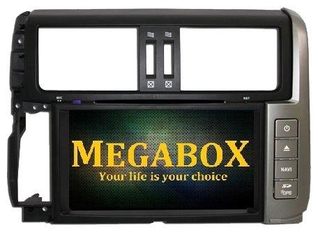 Автомагнитола Megabox Toyota Prado 150 CE6613