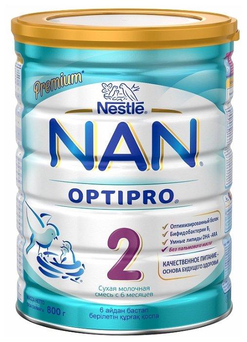 Смесь NAN (Nestle) 2 Optipro (с 6 месяцев) 800 г