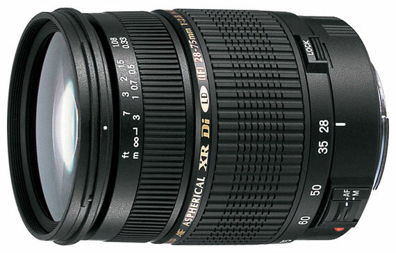 Tamron SP AF 28-75mm F/2.8 XR Di LD Aspherical (IF) Macro Canon EF
