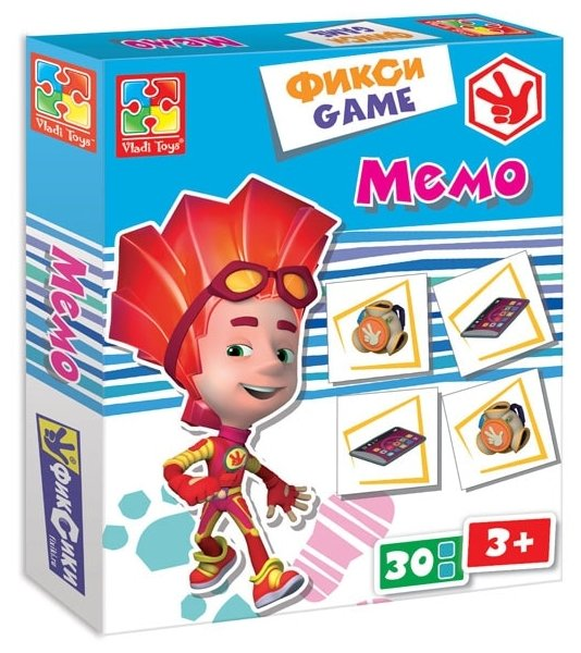 Настольная игра Vladi Toys Фиксики Мемо VT2107-02