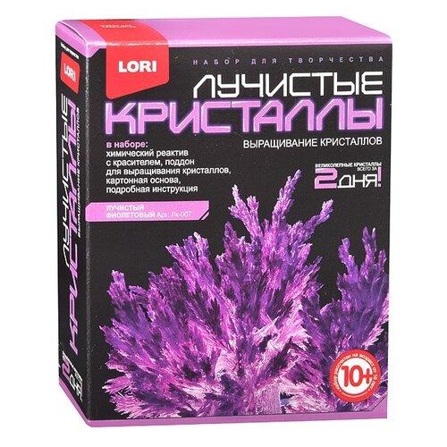 Набор для исследований LORI Лучистые кристаллы фиолетовый