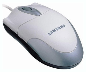 Мышь Samsung SMOP-5000WX White PS/2