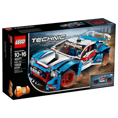 Конструктор LEGO Technic 42077 Гоночный автомобиль конструктор lego technic гоночный автомобиль 1005 элементов