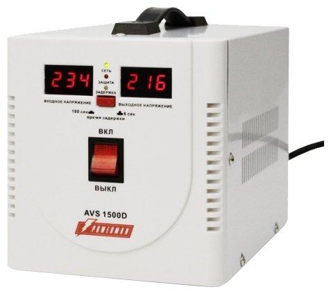 Стабилизатор напряжения однофазный Powerman AVS 1500D (0.75 кВт)