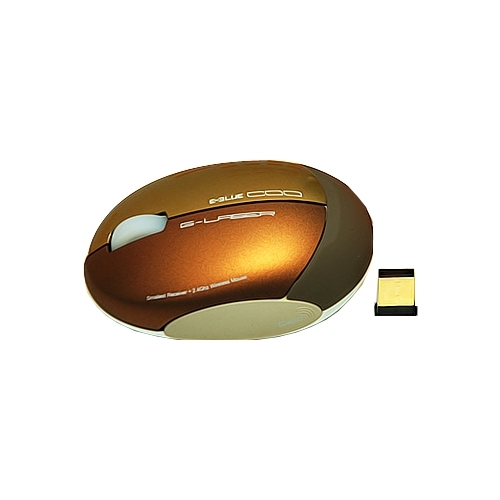 Мышь e-blue COO 2.4GHz Series Wireless Mouse EMS090GO Gold USB