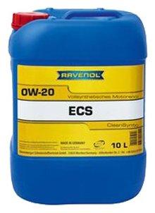 Моторное масло Ravenol Eco Synth ECS SAE 0W-20 10 л