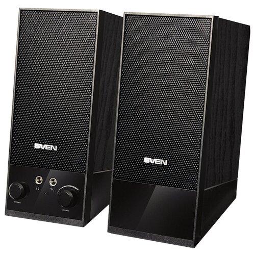 Компьютерная акустика SVEN SPS-604 черный компьютерные колонки sven sps 604