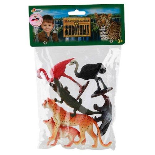 Купить Фигурки Играем вместе Рассказы о животных Дикие животные P0006-06A, Игровые наборы и фигурки