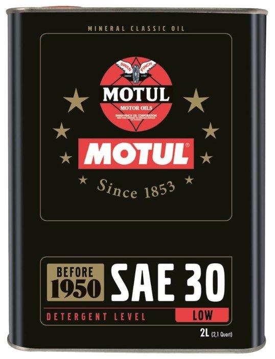 Моторное масло Motul Classic Oil SAE 30 2 л