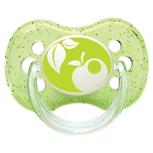 Пустышка силиконовая классическая Canpol Babies Nature 6-18 м (1 шт) зеленый, Пустышки и аксессуары  - купить со скидкой