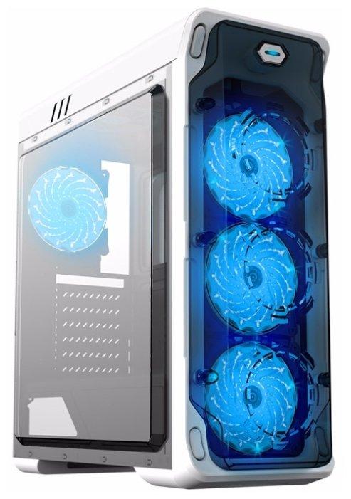 Компьютерный корпус GameMax StarLight White/blue