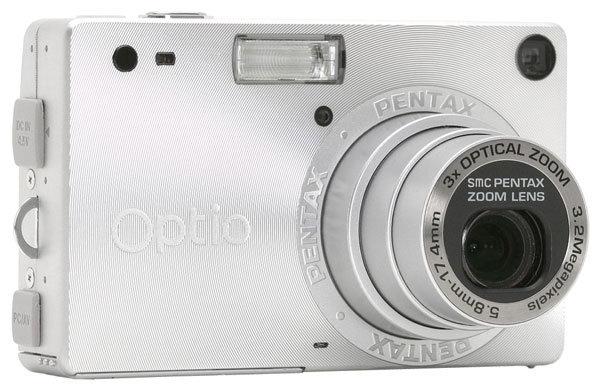 Фотоаппарат Pentax Optio S