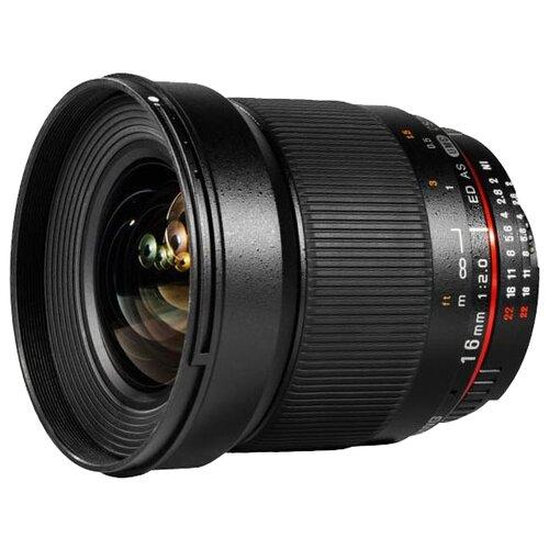 Фото - Объектив Samyang 16mm f/2.0 ED AS UMC CS Canon EF-S объектив samyang 85mm f 1 8 ed umc cs fujifilm x